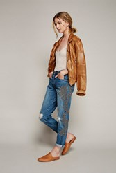 Free People Womens Abbied Studded Bf Jean