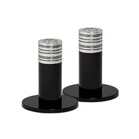 Vera Wang Wedgwood With Love Candlesticks Set Of 2 10Cm