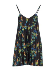 Les Prairies De Paris Short Dresses Dark Blue