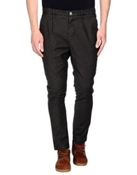 Alessandro Dell'acqua Casual Pants Dark Brown