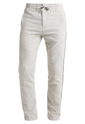 Pier One Trousers Offwhite Off White