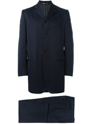 Dolce And Gabbana Vintage Two Piece Suit Blue