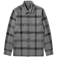Filson Deer Island Check Overshirt Grey