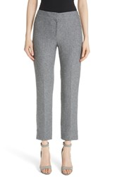 Emporio Armani Boucle Tweed Flare Crop Pants