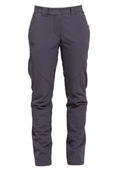 Jack Wolfskin Chilly Trousers Ebony Light Grey