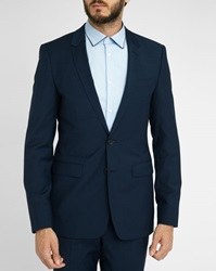 Sandro Blue Notch Suit Jacket