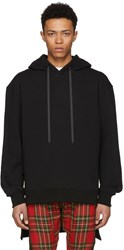 D By D Black High Low Hem Hoodie