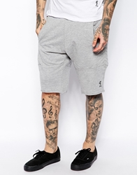 Religion Sweat Shorts Greymarl