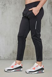 Forever 21 Sports Warm Up Pants Black