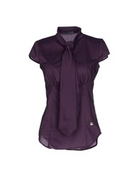 Gaudi' Shirts Blouses Women Purple