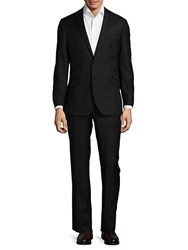 English Laundry Two Button Wool Slim Fit Suit Black