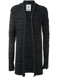 Lost And Found Rooms Open Front Cardigan Grey