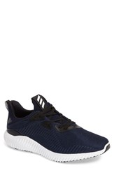 Adidas Men's Alphabounce Running Shoe Navy White Black