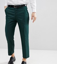 Heart And Dagger Tapered Cropped Trouser Khaki Green