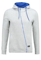 Your Turn Tracksuit Top Light Grey Mottled Light Grey