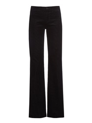 J Brand High Rise Flared Corduroy Trousers