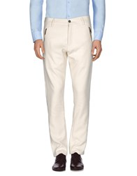 Tom Rebl Casual Pants Ivory