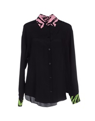 Moschino Cheap And Chic Moschino Cheapandchic Shirts Black