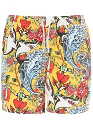 Mc2 Saint Barth Printed Ultra Light Tech Swim Shorts Array 0X596d340