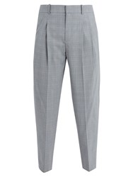 Faith Connexion Classic Prince Of Wales Checked Trousers Navy
