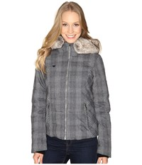 Obermeyer Bombshell Jacket Special Edition Plaid Heather Women's Coat Gray