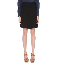 See By Chloe High Rise Woven Shorts Black
