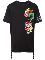Haculla Patched T Shirt Black