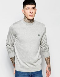 Fred Perry Jumper With Crew Neck Stone Marl Grey