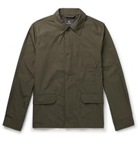 Paul Smith Ps Cotton Blend Ripstop Field Jacket Green