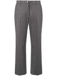 Chanel Vintage Flare Trousers Grey