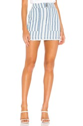 Bb Dakota Jack By Say It In Stripes Skirt Blue