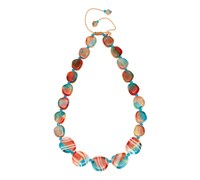 Lola Rose Marye Necklace Tie Dye Agate Mix Multi Coloured Multi Coloured