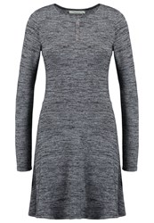 Twintip Jumper Dress Dark Grey Melange Mottled Dark Grey