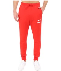 Puma Archive T7 Track Pants High Risk Red Men's Workout Multi