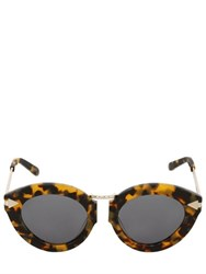 Karen Walker Lunar Flowerpatch Crazy Tort Sunglasses