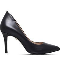 Kg By Kurt Geiger Bella Pointed Leather Courts Black