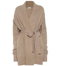 Co Wool And Cashmere Cardigan Neutrals