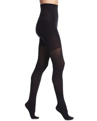 Spanx High Waisted Luxe Sheer Tights Very Black