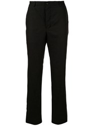 Forme D'expression Straight Leg Trousers Black