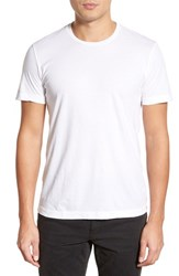 Velvet By Graham And Spencer Men's 'Howard' Crewneck T Shirt White