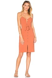Lovers Friends Marina Dress Rust
