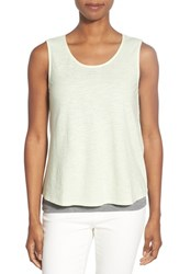 Women's Eileen Fisher Scoop Neck Shell Celadon
