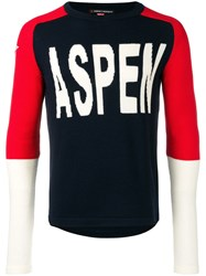 Perfect Moment Aspen Sweater Blue