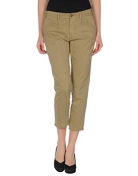 People 3 4 Length Shorts Khaki