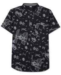 Jem Men's Star Wars Print Short Sleeve Shirt