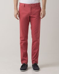 Polo Ralph Lauren Washed Red Pima Cotton Chino Trousers
