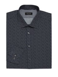 Sand Regular Fit Star Night Dress Shirt Dark Blue
