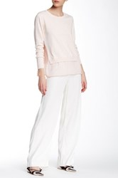 French Connection Wide Leg Pant White