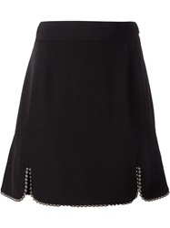 Alexander Wang Beaded Hem Skirt Black
