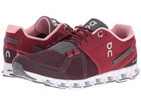 On Cloud Ruby Dark Women's Running Shoes Red